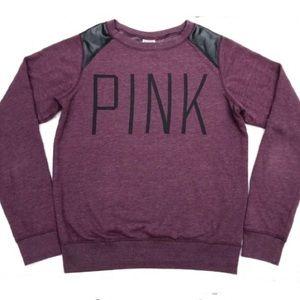 Victoria's Secret PINK Maroon Sweatshirt